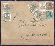 Deutsches Reich - Brief 1920 - Briefe U. Dokumente