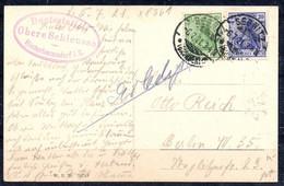 Deutsches Reich - Postkarte - 1921 - Briefe U. Dokumente