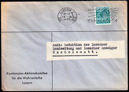 Switzerland Luzern 1936 / Landscapes, Mount Pilatus, 5c - Lettres & Documents