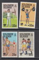 1988 Solomon Islands Seoul Korea Olympics Archery Boxing   Complete Set Of 4 MNH - Solomoneilanden (1978-...)