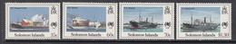 1988 Solomon Islands Australia Bicentennial Ships   Complete Set Of 4 MNH - Solomoneilanden (1978-...)