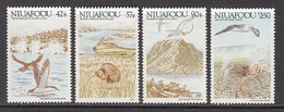 1988 Tonga Niuafo'ou Birds & Landmarks Complete Set Of 4   MNH - Tonga (1970-...)