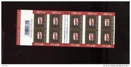 Belgie Boekje Carnet 2006 B62 Lips Kiss Day Of The Stamp - Markenheftchen 1953-....