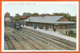 CANADA 002, *  DIGBY N.S. RAILWAY STATION * - Unclassified