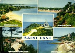 "SAINT CAST LE GUILDO - LA POINTE DE LA GARDE - LA POINTE DE L'ISLE - LA PLAGE ET L'HOTEL ""AR VRO"" - LE PORT DE L'ISLE - Saint-Cast-le-Guildo"