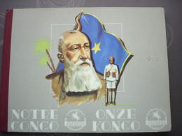 "Album Chocolade Chocolat Jacques "" Onze Kongo Notre Congo "" Volledig - Sammelbilderalben & Katalogue"