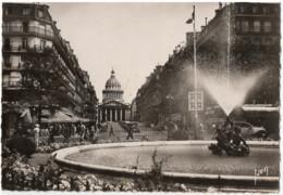 CPSM 75 Paris Place Edmond Rostand, Rue Soufflot Et Le Panthéon - Ohne Zuordnung