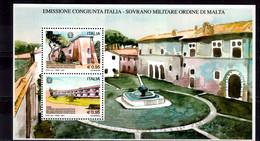 2015 Italy Hospital Of San Giovanni Battista MS MNH**  Mi B 78 Joint Issue With Malta Order Medicine Architecture - 2011-20:  Nuevos
