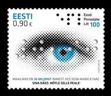 Estonia 2021 Mih. 1026 Estonian Federation Of The Blind MNH ** - Estland