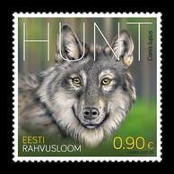Estonia 2021 Mih. 1027 Fauna. Wolf MNH ** - Estland