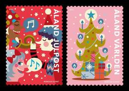 Aland 2021 Mih. 511/12 Christmas MNH ** - Ålandinseln