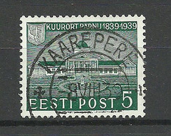 ESTLAND Estonia 1939 O KAAREPERE Michel 148 - Estland