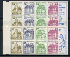 1980, Bundesrepublik Deutschland, MH 23 B+c, ** - Markenheftchen