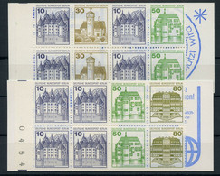 1980, Berlin, MH 11+13, ** - Markenheftchen