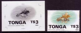 Tonga 1994 - $3.00 Shell - Proof + Specimen - Tonga (1970-...)