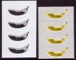 Tonga 1994 - Banana Strip Of 4  - Proof + Specimen - Tonga (1970-...)