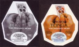 Tonga 1994 - Proof + Specimen - Shows 1977 Queen Elizabeth Jubilee - Hand - Scarce - 4 Exist - Tonga (1970-...)