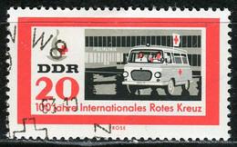 A07-17-7) DDR - Mi 957 ⨀ - 20Pf  100 Jahre Rotes Kreuz - Gebraucht