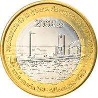 Monnaie, France, 200 Francs, 2018, Glorieuses, SPL, Bi-Metallic - Kolonien