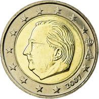 Belgique, 2 Euro, 2007, FDC, Bi-Metallic, KM:246 - Belgien