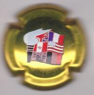 Capsule Champagne PHILIPPART Maurice { N°71 : GOLD Beach 1944-2014 Débarquement Normandie } {S43-21} - Sin Clasificación