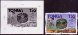 Tonga 1995 $5.00 FAO - Proof + Specimen - Tonga (1970-...)
