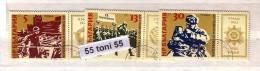 1985 Anti Fascism Nazi Germany 3v.- Used (O)  Bulgaria / Bulgarie - Gebraucht