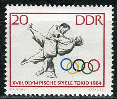 A07-18-1) DDR - Mi 1035 ✶✶ - 20Pf       Sommerolympiade, Judo - Ungebraucht