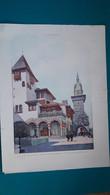 Extrait De L'illustration De 1900,exposition Universelle Le Pavillon De La Bosnie-Herzégovine - Architectuur