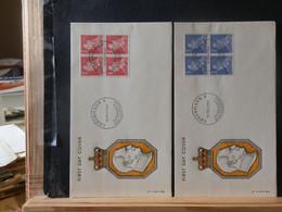 965/800  FDC  DANMARK  1961 - FDC