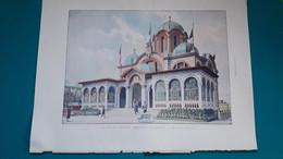 Extrait De L'illustration De 1900,exposition Universelle Le Pavillon De La Serbie - Architectuur