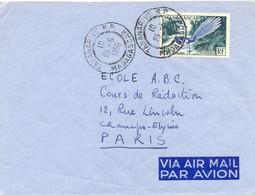 TANANARIVE R.P. MADAGASCAR TàD 25-5-1956 - Covers & Documents
