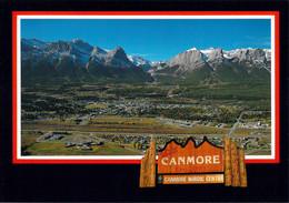 Canada Postcard 1988 Calgary Winter Olympics  - Canmore, Alberta - Site Of The Nordic Centre For The 1988 Winter - Invierno 1988: Calgary