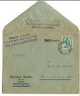 LETTRE AU TARIF IMPRIMES POUR L'ALLEMAGNE - 1929-1937 Leone Araldico