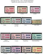 Allemagne De L'Est RDA DDR– ZKD : Zentraler Kurier Dienst - Dienstpost