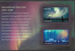 2007 USA Mi. Bl. 62 **MNH  Internatioal Polar Year 2007-2008 - Ungebraucht