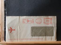 965/824 LETTRE  SWISSAIR   1955 - Cartas