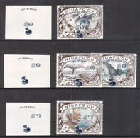 "Tonga Niuafo'ou 1995 ""Save The Whales"" - Proof X 3 Of Overprint - Important Read Description - Tonga (1970-...)"