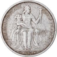 Monnaie, FRENCH OCEANIA, 5 Francs, 1952, Paris, TB+, Aluminium, KM:4 - Kolonien