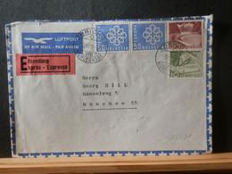 965/831 LETTRE  SUISSE POUR     MUNCHEN  EXPRES 1959 - Cartas