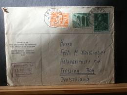 965/833  LETTRE  SUISSE 1957 POUR ALLEMAGNE - Cartas