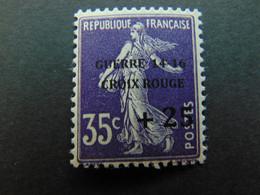 Très Beau N°. 4E (numérotation Maury) De La 1ère Guerre Mondiale - Timbre Non Signé - Guerres