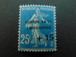 Très Beau N°. 4D (numérotation Maury) De La 1ère Guerre Mondiale - Timbre Non Signé - Guerres
