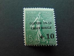 Très Beau N°. 4C (numérotation Maury) De La 1ère Guerre Mondiale - Timbre Non Signé - Guerres