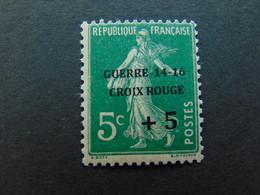 Très Beau N°. 4B (numérotation Maury) De La 1ère Guerre Mondiale - Timbre Non Signé - Guerres