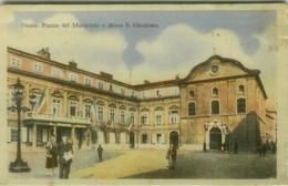 CROATIA - Rijeka / FIUME - PIAZZA DEL MUNICIPIO E CHIESA S. GIROLAMO - EDIZIONE G.P. 1920s (11761) - Croatia