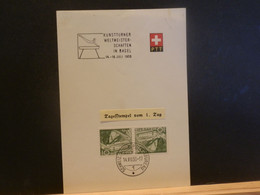 95/842  DOC. SUISSE   1950 - Cartas