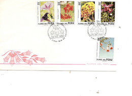 Pérou - Fleurs ( FDC De 1972 à Voir) - Peru
