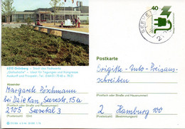 "(BP3)BRD Bildpostk.Wz40(Pf) Olivgrün""Unfallverhütung"" P120 515586 D3/46 ""6310 Grünberg""  TSt.5.5.76 SEEVETAL - Bildpostkarten - Gebraucht"