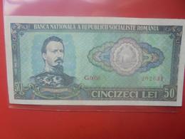 ROUMANIE 50 LEI 1966 Circuler(B.25/2) - Romania